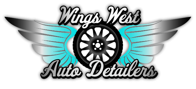Wing West Auto Detailers logo by Cosmic Web Design in Stockport